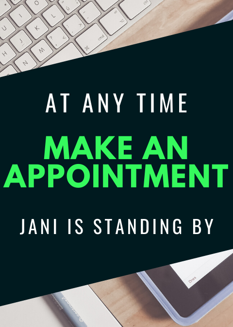 Schedule an appointment with Jani